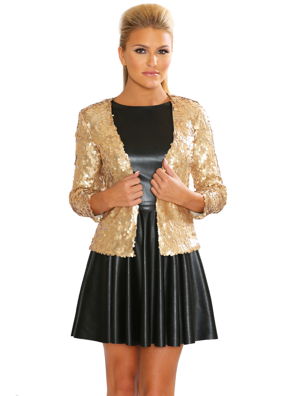 Honey Sequin Cardigan - Soraya By Rozi